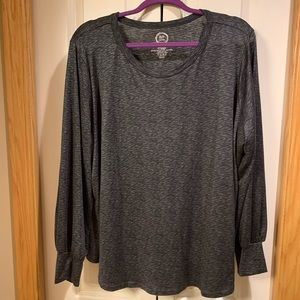 Maurice's 24/7 long sleeve plus size top